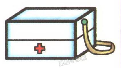 急救箱简笔画