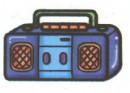 收音机简笔画