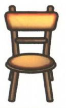 椅子简笔画简单画法