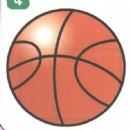 篮球简笔画怎么画