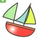 帆船简笔画图片步骤教程