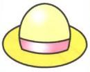 帽子简笔画图片大全