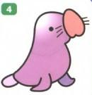 小海豹简笔画