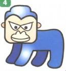 黑猩猩简笔画