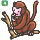 猴子简笔画图片教程