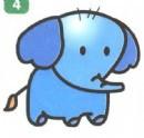 小象简笔画
