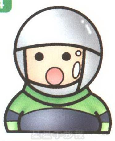 宇航员简笔画