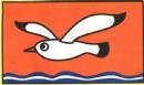 海鸥与浪花简笔画