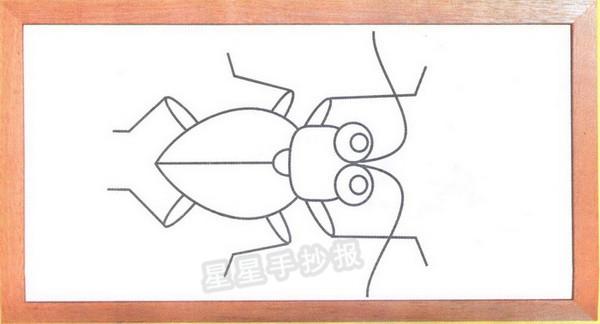 该亚科的松天牛属(parandra,或称异天牛属,有时列入椎天牛科〔spondylidae〕)生于松树中,   天牛卡通简笔画怎么画图解与口