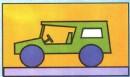 吉普车简笔画图片画法