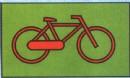 自行车简笔画简单画法