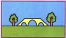 桥简笔画图片教程