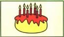 生日蛋糕简笔画怎么画