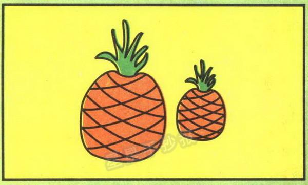 菠萝简笔画