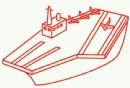 航空母舰简笔画