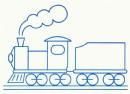 火车简笔画图片教程