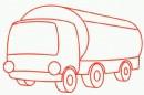 油罐车简笔画图片教程