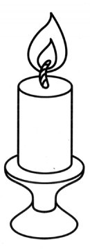 蜡烛简笔画图片画法