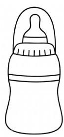 奶瓶简笔画