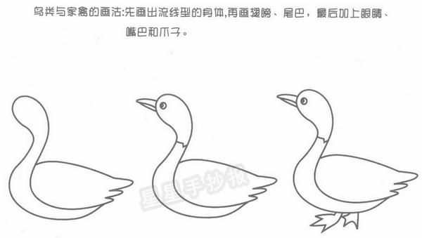 动物简笔画怎么画