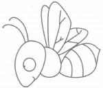 苍蝇简笔画图片步骤教程