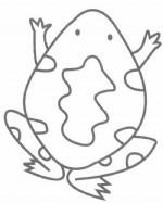 卡通青蛙简笔画