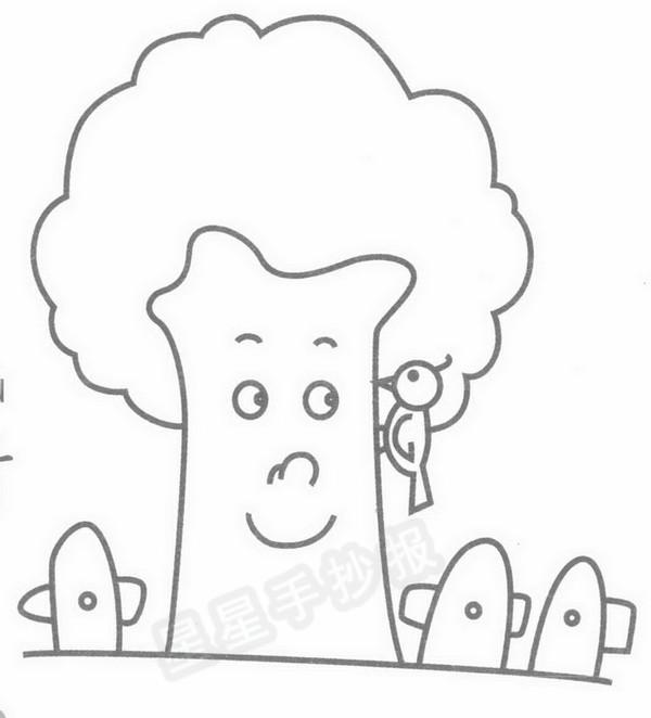 星星报 简笔画 风景简笔画 >> 正文内容   小鸟与大树的资料:     在
