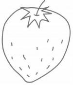 草莓简笔画图片教程