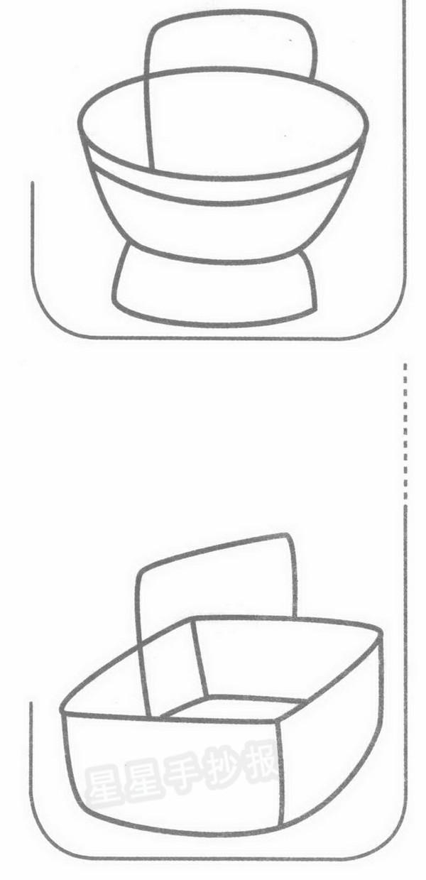 篮子简笔画示例图片