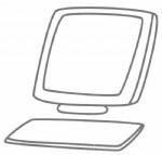 电脑简笔画图片画法