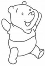 小熊维尼简笔画怎么画