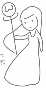 雅典娜简笔画