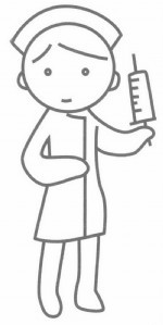 护士简笔画简单画法