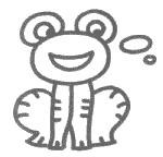 简单的青蛙简笔画