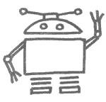 机器人简笔画怎么画