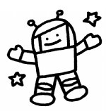 太空人简笔画