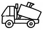 清洁车简笔画