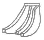 简单的香蕉简笔画