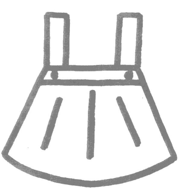 裙子简笔画怎么画图解教程