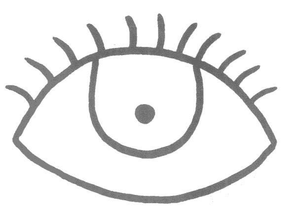眼睛简笔画