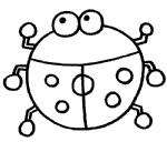 瓢虫简笔画简单画法