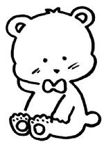 小熊简笔画简单画法