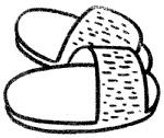 拖鞋简笔画简单画法