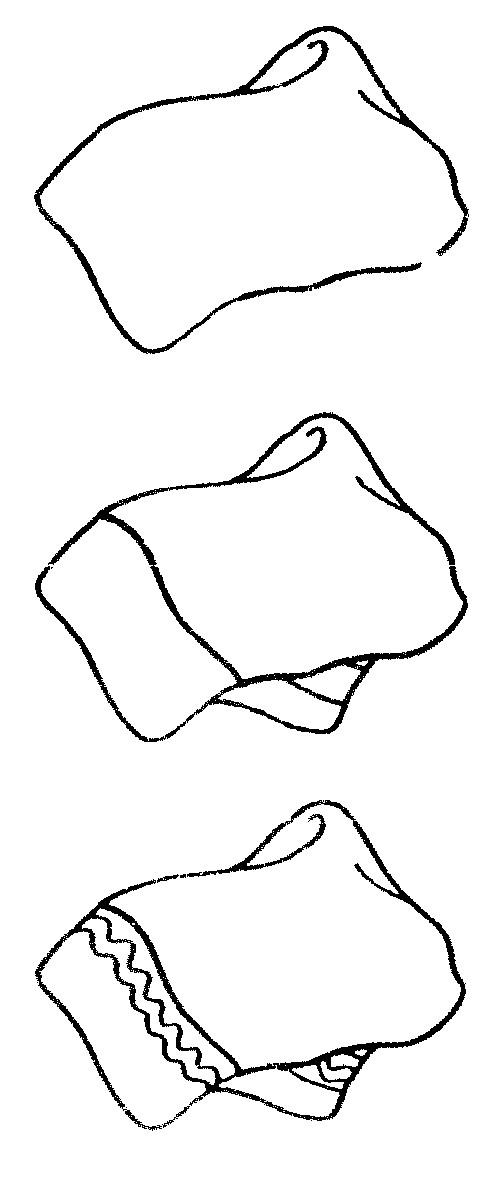 毛巾简笔画图解图片-毛巾简笔画怎么画