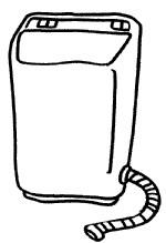 洗衣机简笔画图片步骤教程