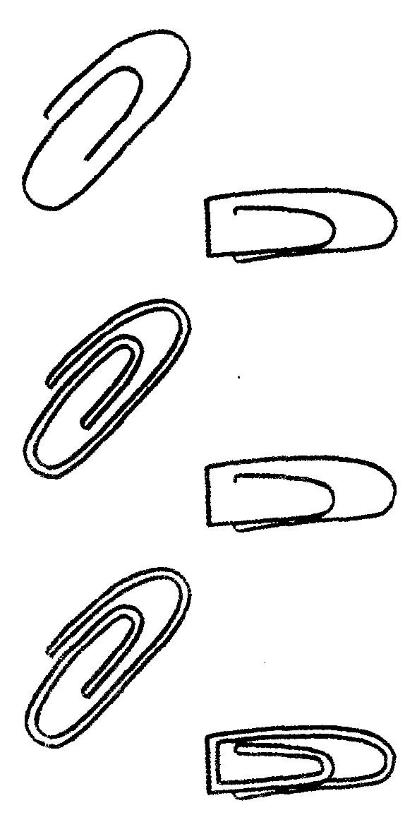 回形针简笔画怎么画