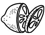 柠檬简笔画简单画法