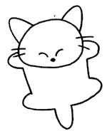 猫简笔画简单画法