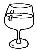 酒杯简笔画简单画法
