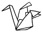 纸鹤简笔画